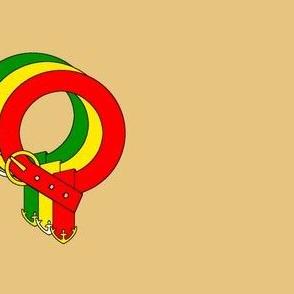 """""""Squapprentegé"""" Belt (Tan)"""