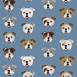 english bulldog faces cute dog face fabric cute design for pet lovers english bulldog owners love dogs