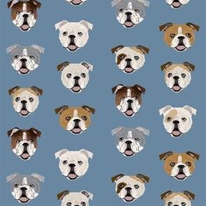 english bulldog faces cute dog face fabric cute design for pet lovers english bulldog owners love dogs