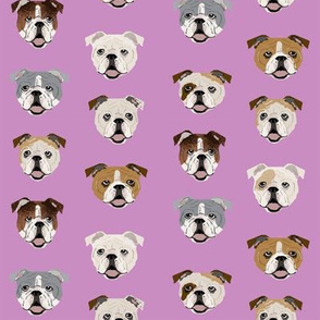 english bulldogs faces cute english bulldog fabric dog fabric dog lovers fabrics