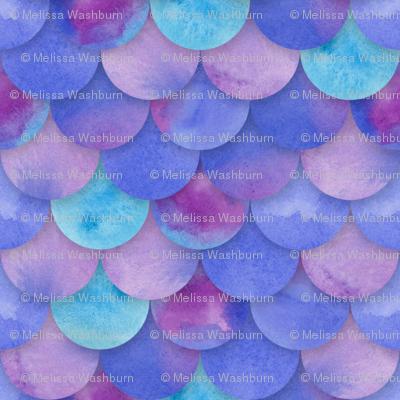 Purple Mermaid Scales