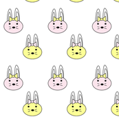 pastel bunnies