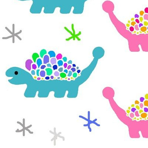 Dinosaur Print - Ankylosaurus