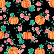 Rpumpkins_and_roses_pattern_base_small_on_black_shop_thumb