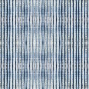 Shibori Striped Blue