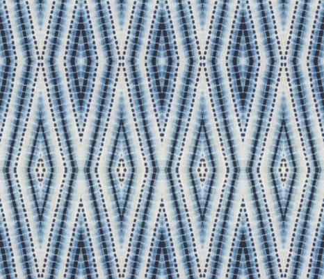 Shibori Diamond Blue fabric by pricedesigns on Spoonflower - custom fabric
