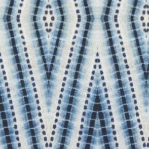 Shibori Diamond Blue