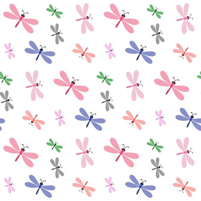 Dragonfly Colorful - MEDIUM