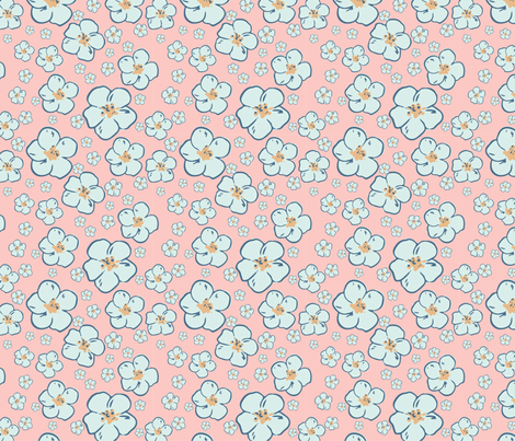 flower_3 fabric by lagunova_maya on Spoonflower - custom fabric