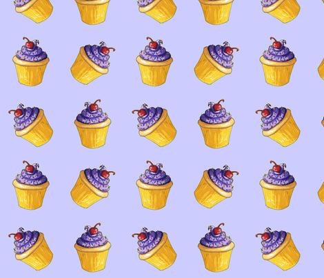 Team Cupcake fabric by amyelyse on Spoonflower - custom fabric