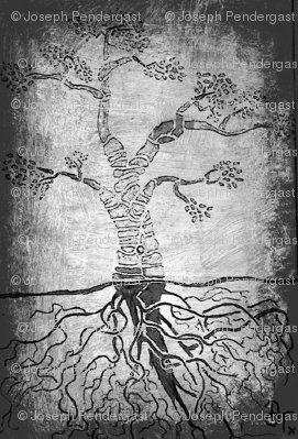 The graphite tree.