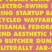 Hipster Text in Tenenbaum