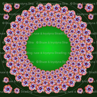Mak kolorowy Gypsy Dress Pattern