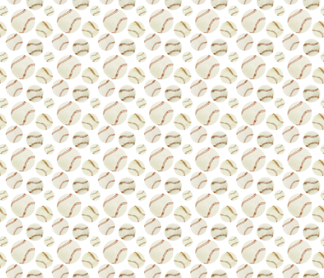 Baseball Field Jr. fabric by atlanticmoira on Spoonflower - custom fabric