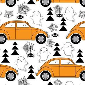 Orange Halloween Cars