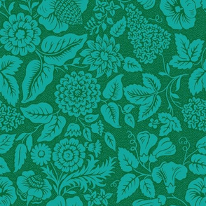 Rococo Flowers 1f