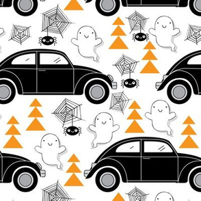 Black Halloween Cars