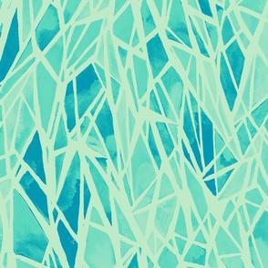 geometric - cool pastel