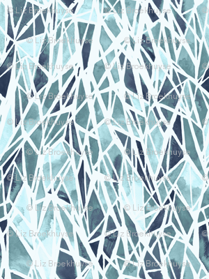 geometric - ice