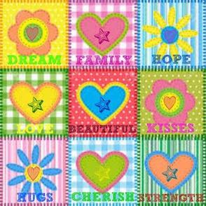 Hope,Love,Family,Dream