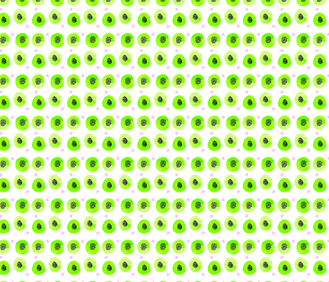 kiwis-01 fabric by fancifuldoodles on Spoonflower - custom fabric