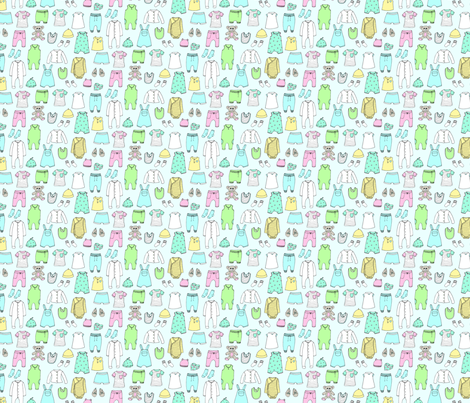 Baby Blue fabric by emmakisstina on Spoonflower - custom fabric