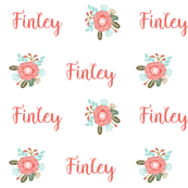 personalized name fabric girls fabric for baby girl cute room design personal monogram name fabric