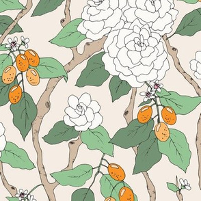 Gardenias and Kumquats
