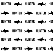 shark personalized baby fabric , personalized baby, name fabric,  cute fabric, best custom fabric, custom name fabric,