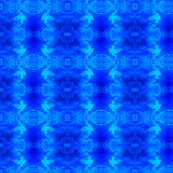 Blue and Aqua Abstract