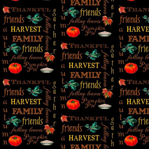 Thanksgiving Harvest Text