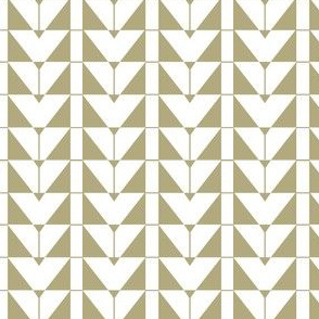 Geometric Triangels, beige