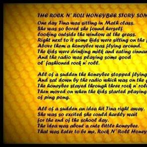 The Rock N' Roll Honeybee Story Song