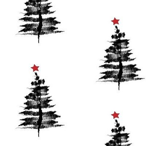 Ink-sketch-Christmas-tree