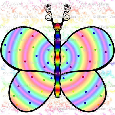 Rainbow Butterfly HH Comp