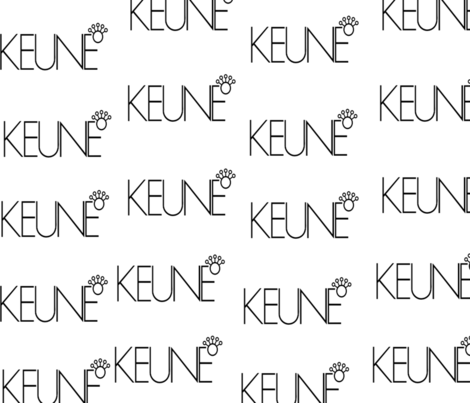 Keune beauty fabric by evelinalilliebjcdesigns on Spoonflower - custom fabric