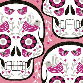 sugarskull-pink