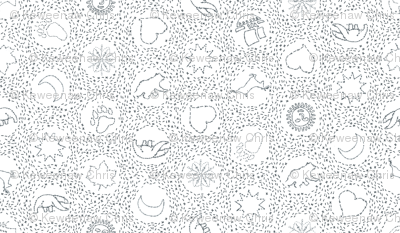 embroidered coverlet white