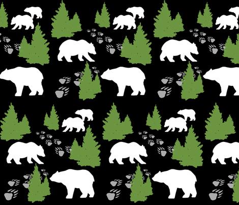 PolarBears fabric by dippity-do_designs on Spoonflower - custom fabric