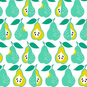 Back to school pears