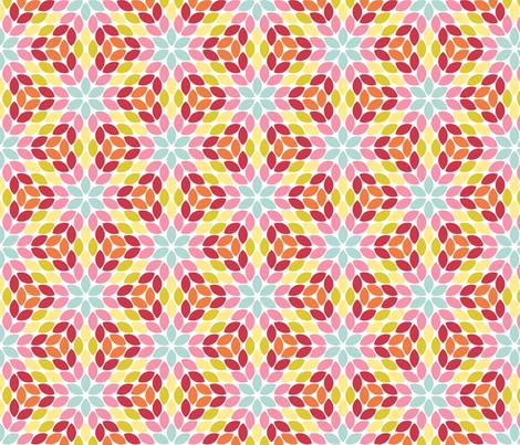 05710343 : R6R lens 4 : spring petals fabric by sef on Spoonflower - custom fabric