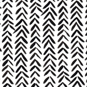 Black and White Arrow Tips