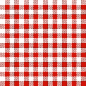 red and white christmas check tartan plaid red and white design