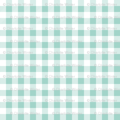 mint gingham plaid check tartan mint christmas plaid tartan