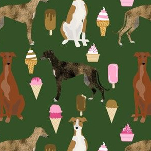 greyhound fabrics cute ice cream fabric best ice cream fabric cute dogs dog fabric best ice creams
