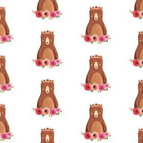Fun Rustic Girl Bear