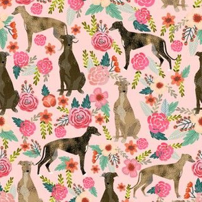 brindle greyhound fabric cute dogs fabric cute brindle vintage floral fabric cutes floral fabric