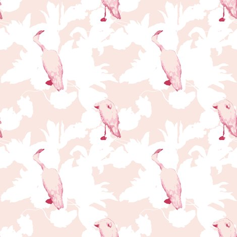 Rmid_cenutry_moden_floral___simple_pleasures_with_flamingos___arabesque_and_white___peacoquette_designs___copyright_2016_shop_preview