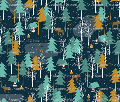 Winter Camping - Large Scale