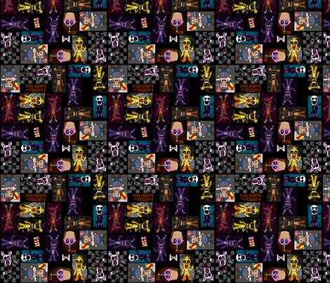 FNAF Skirt Pattern fabric - boydch146